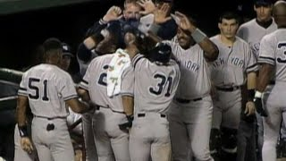 1996 ALDS Gm3: Yankees rally in 9th to take lead