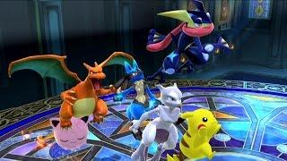 20th Anniversary - A Pokemon Montage (Smash Bros Wii U)