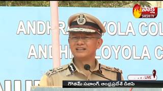Coronavirus lockdown: AP DGP Gowtham Sawang press meet..