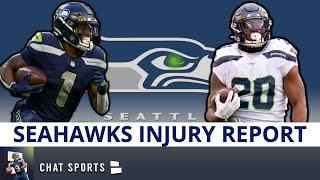 Seattle Seahawks Injury Report: News On Damien Lewis, Poona Ford, D'Wayne Eskridge & Bryan Mone
