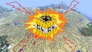 Chỉ Cần 1 Quả TNT Này Là Bạn Có Thể Phá Nát Thế Giới Minecraft !!!