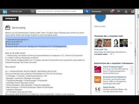 LinkedIn Tip 9   Je Samenvatting