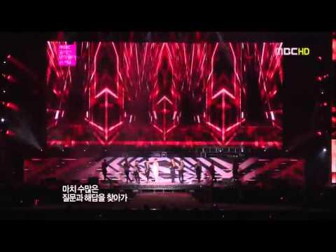 121001 TVXQ - Rising Sun @MBC SMTown in Seoul