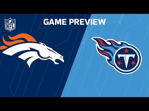 Tennessee Titans vs Denver Broncos