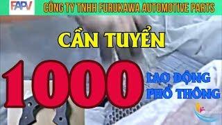 HOT!!! Việc làm SÀI GÒN tuyển dụng 1000 lao động phổ thông KHÔNG CẦN KINH NGHIỆM - ĐI LÀM NGAY