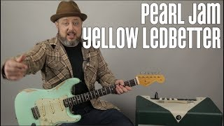 """How to Play """"Yellow Ledbetter"""" by Pearl Jam on Guitar"""