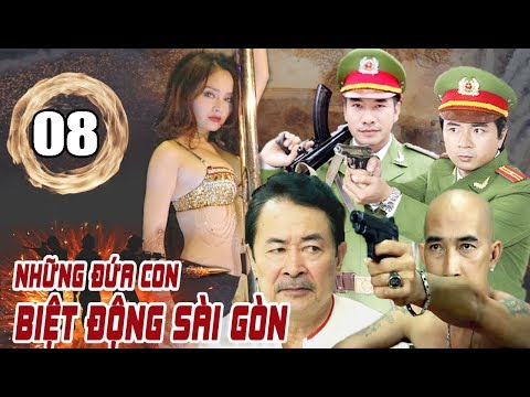 Những Đứa Con Biệt Động Sài Gòn - Tập 8 | Phim Hình Sự Việt Nam Mới Hay Nhất