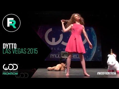 Dytto   FRONTROW   World of Dance Las Vegas 2015   #WODVEGAS15