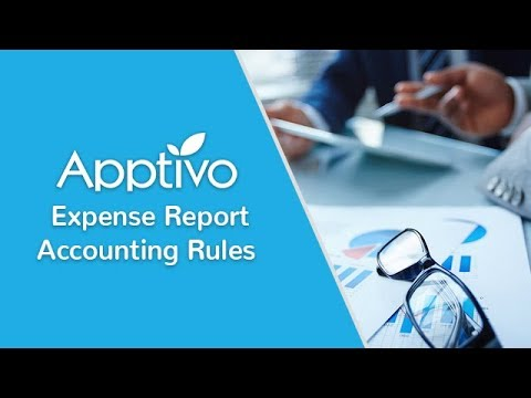 Create Accounting Rules in Expense Reports
