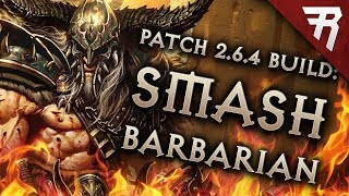 Diablo 3 Season 16 Barbarian Immortal King HOTA GR 123+ build guide - Patch 2.6.4