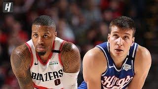 Sacramento Kings vs Portland Trail Blazers - Full Game Highlights   March 7, 2020 NBA Season