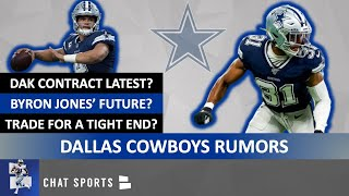 Cowboys Rumors: Byron Jones Future? Sign Vic Beasley? Dak Prescott Latest? Trade For A Tight End?