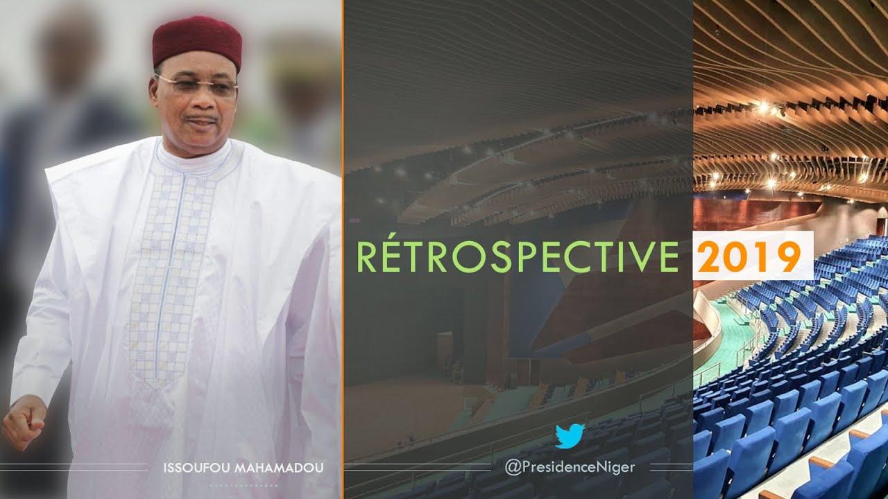 Rétrospective de l'Agenda 2019 de SEM Issoufou Mahamadou, Président de la République du Niger