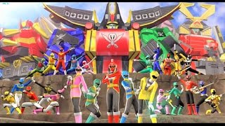 Sieu Nhan Game Play   Siêu nhân hải tặc đỏ   Game Super Sentai Battle Ranger Cross #1