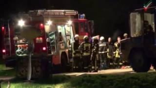 NRWspot.de | Hattingen – Zweiter Scheunenbrand in Folge – Großeinsatz für die Feuerwehr