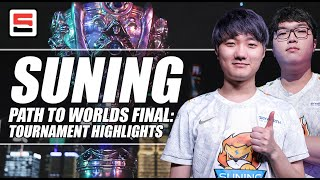 Suning Gaming, Path to Worlds Final: Tournament Highlights | ESPN ESPORTS