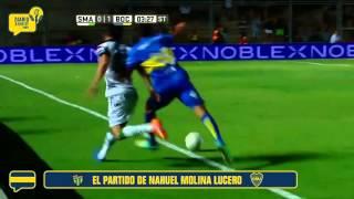 San Martín SJ 0 - Boca 1: así jugó Nahuel Molina
