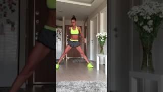 Kalça-İç bacak-Basen egzersizleri
