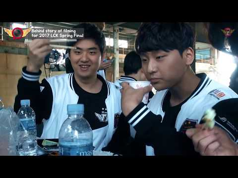 EP17. Behind story of filming for 2017 LCK Spring Final [T1 Camera]