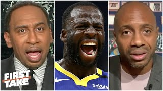 Stephen A. and Jay Williams get heated over Draymond's comments about Kevin Durant | First Take