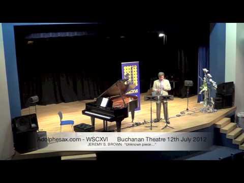 """WSCXVI JEREMY S  BROWN   """"Others"""", by John Butcher"""