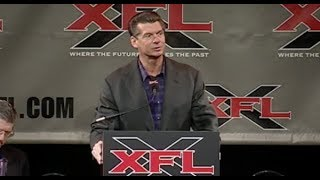 Vince McMahon to reboot the XFL and challenge the NFL
