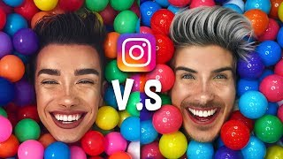 RECREATING YOUTUBERS INSTAGRAMS! James Charles, Liza Koshy, Shane Dawson and More...