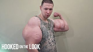 Russian 'Hulk' Injects Dangerous Chemicals To Look BIGGER | HOOKED ON THE LOOK