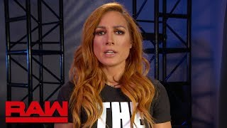 """Becky Lynch interrupts """"A Moment of Bliss"""": Raw, July 29, 2019"""