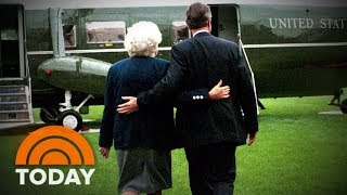 Barbara Bush And George H.W. Bush: An Epic Love Story   TODAY