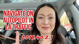 Can I Finally Use Tesla Navigate On Autopilot In LA Traffic?
