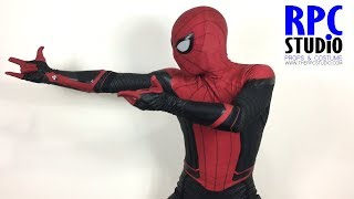 Spiderman Bros Unboxing Spiderman Far From Home Movie Quality suit (RPCPAINT version)