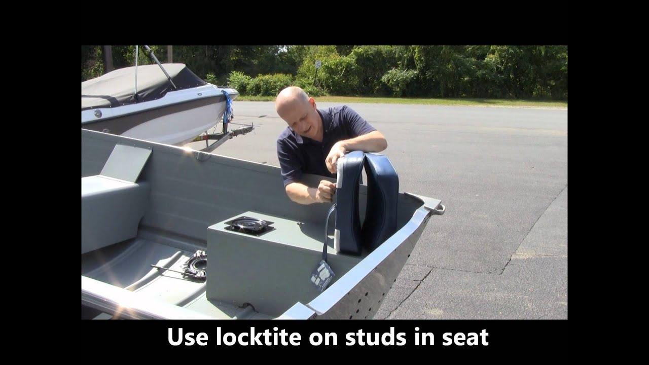 Karmiz Here Diy Boat Seats