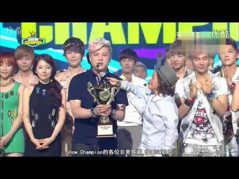 [中字] 120724 Super Junior - Show Champion 一位