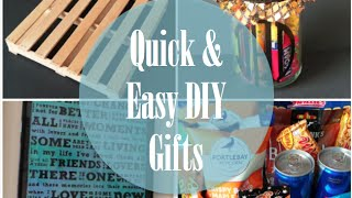Quick & Easy DIY Gifts