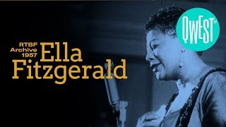 Ella Fitzgerald - Lullaby of Birdland - RTBF Archive 1957 • NOW ON QWEST TV !