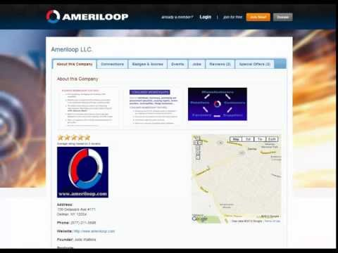 Ameriloop Profile Page Video