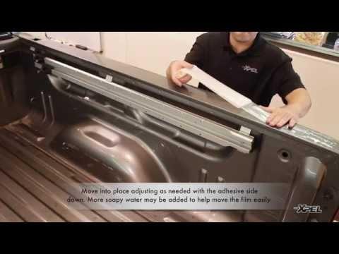XPEL Bed Rail Guard Clear - DIY