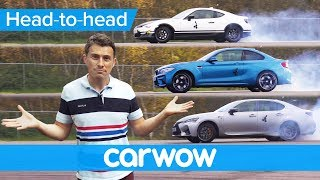 BMW M2 vs Lexus GS F vs Toyota GT86 - you won't believe which is the least fun | Head-to-Head