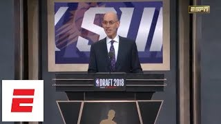 [FULL] The entire first round of the 2018 NBA draft in 7 minutes | ESPN