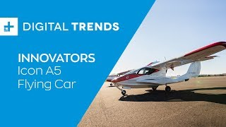 Meet the Icon A5: a high-tech airplane that anyone can fly