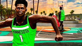 ROOKIE ANTHONY EDWARDS BUILD is OVERPOWERED in NBA 2K21