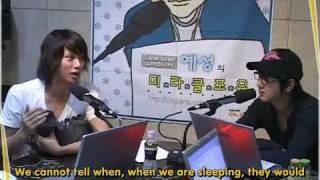 [engsub] 070704 Yesung's Miracle For You: Heechul & Heebum as guests [1/2]