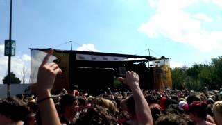 Bring Me The Horizon - Shadow Moses (Live at Warped Tour, Detroit MI, 7/19/13)