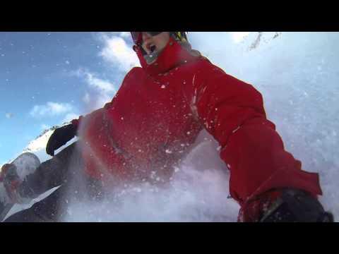 Welcome winter!! snowboard gopro hero 3