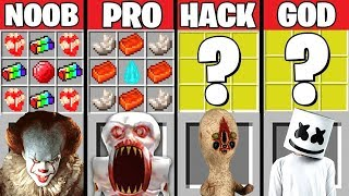 Minecraft Battle: SCP-096 VS MARSHMELLO CRAFTING CHALLENGE ~ NOOB vs PRO! HACKER vs GOD – Animation