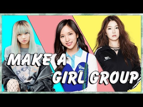 Create Your Own 7 member K-Pop Girl Group! (Kpop Game)