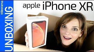 Apple iPhone XR unboxing y primeras impresiones -¿el MEJOR iPhone del año?-