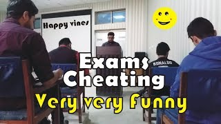 Cheating In exams very very funny video by Happi Vines
