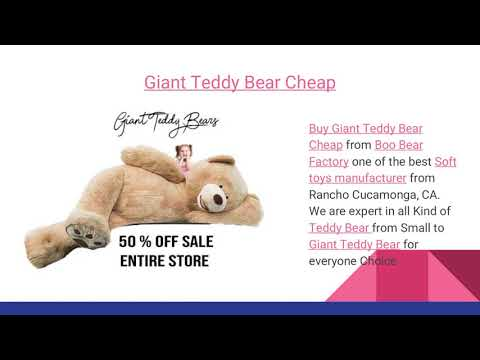 Top 3 Giant Teddy Bear for Every Occasion